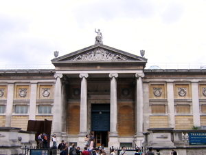 [An image showing Ashmolean Museum]