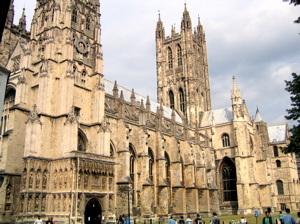 [An image showing Canterbury Cathedral]