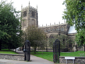 [An image showing All Saints Church]