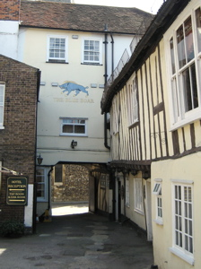 [An image showing Blue Boar Inn]