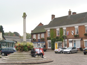 [An image showing Market Bosworth]