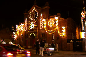[An image showing Leicester Lights Up for Diwali]