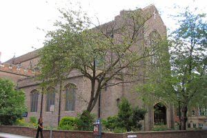 [An image showing Holy Cross Priory Church]