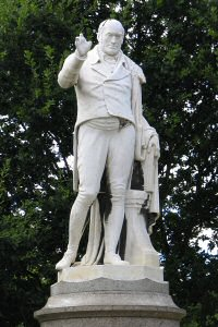 [An image showing Robert Hall Statue]